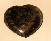 Coeur de Pierre de lune noire